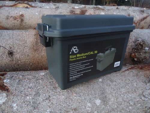 Plastic Munition Box  Gr. 2  neu