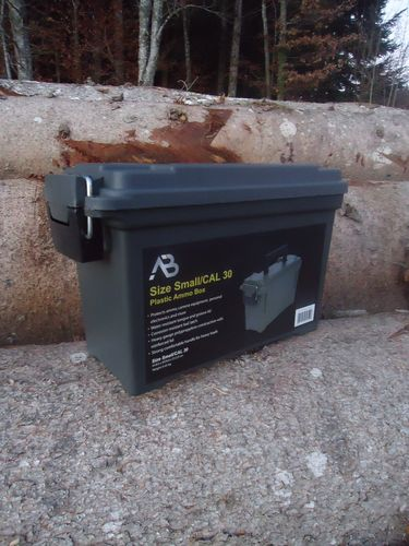 Plastic Munition Box  Gr. 1  neu