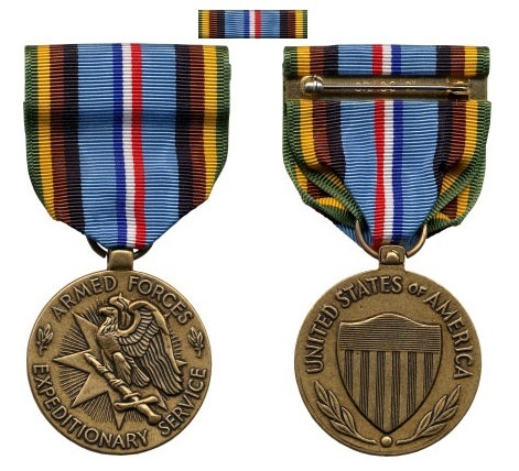 US Army Armed Forces Expeditionary Medal  neu